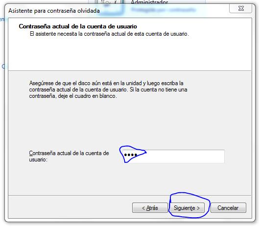 Crear disco para restablecer contrase a en windows 7 - Restablecer contrasena ...