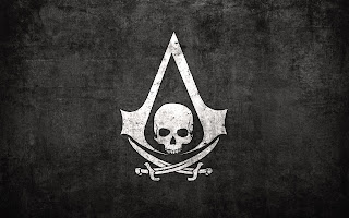 Assassins Creed Logo Skull Sword Video Game HD Wallpaper Desktop PC Background