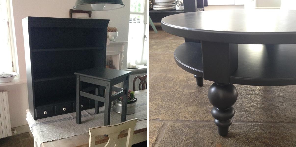 Restyling di un tavolino Ikea - Shabby Chic Interiors