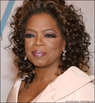 Oprah Winfrey God bless and Good Luck Ryan Mckillop