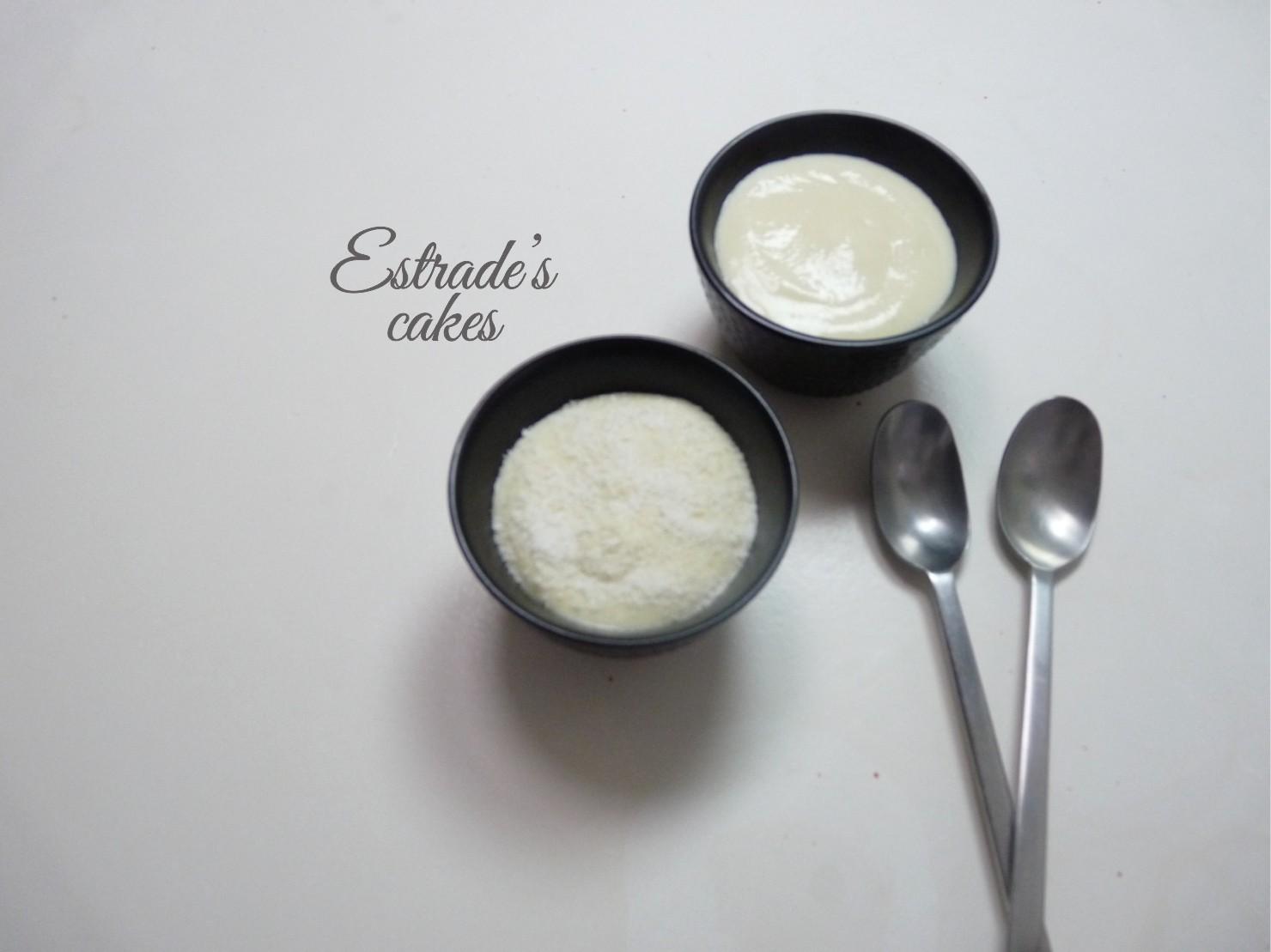 receta de mousse de coco - 1