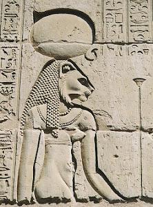 Tefnut Wall Relief