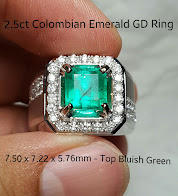 2,50ct Colombian Emerald GD