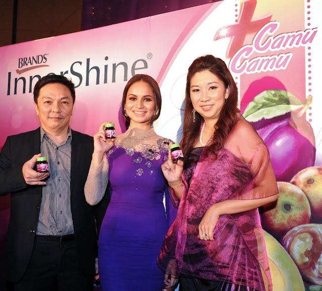Izara Aishah, new ambassador of innershine camu camu Izara Aishah, launch InnerShine Camu Camu,