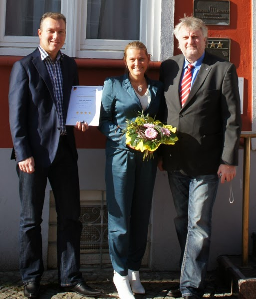 Dehoga Klassifizierung 4 Sterne - City Partner Hotel Alter Speicher Wismar, Norbert Preuss, Svenja Preuss
