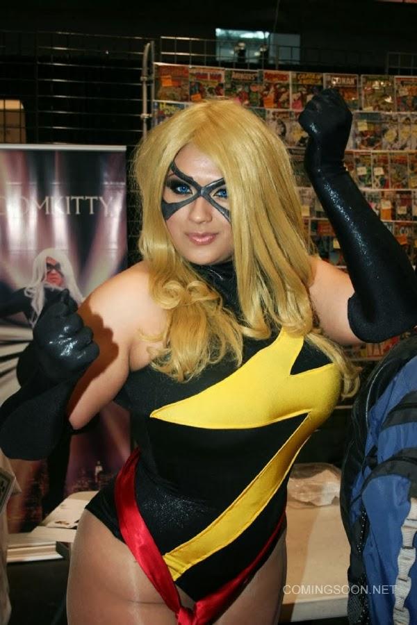Miss Marvel Sexy Cosplay de la New York Comic Con 2013