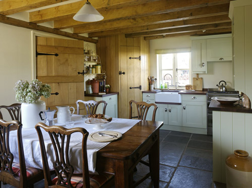 Meble do kuchni kuchnie w stylu wiejskim - English cottage kitchen designs ...