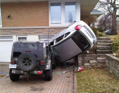 Cars in Funny Situations