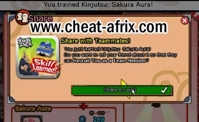 Claim Kinjutsu Sakura Aura Free Fan Hanami 2013
