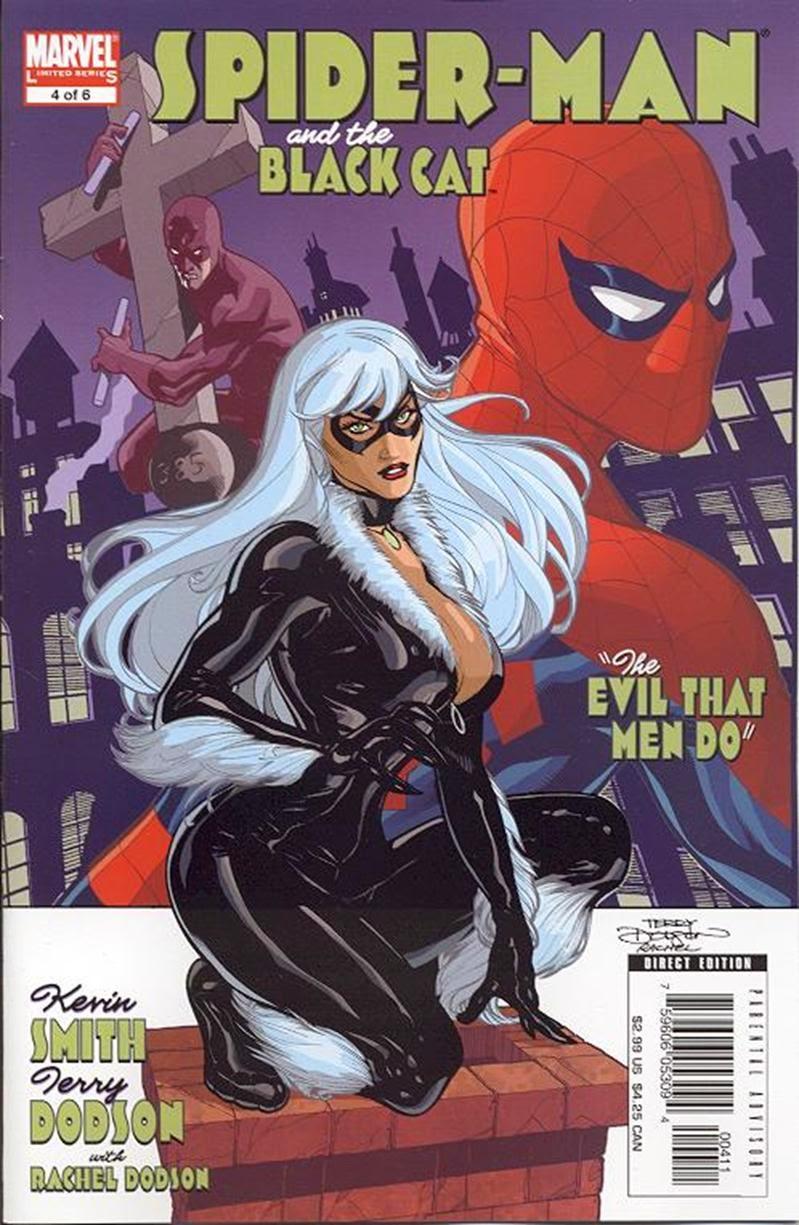 Homem-Aranha e Gata Negra - O mal nos corações dos Homens #4