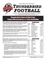 Southern Utah Game Notes