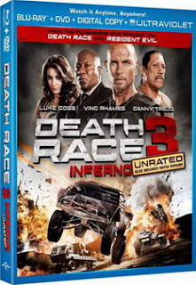 Death Race 3 : Inferno UNRATED (2013) 720p WEB-DL 800MB MKV