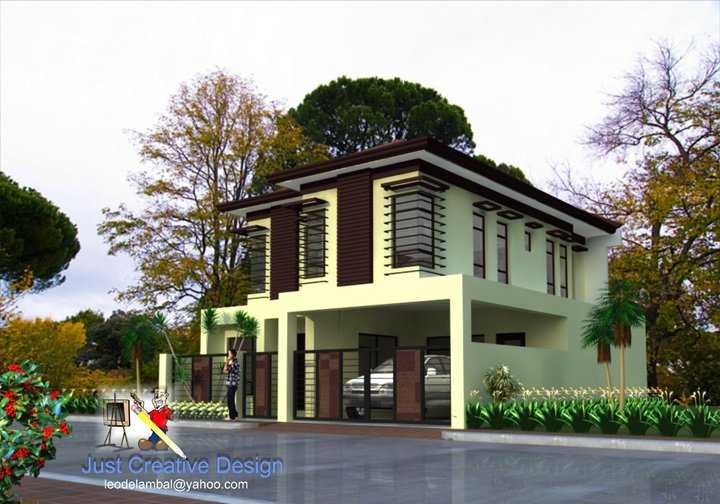 M h b alpuerto design and construction our latest designs for Two storey residential house design