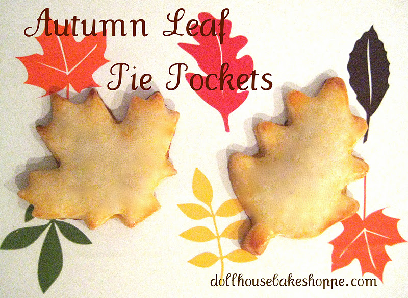 autumn leaf pie pockets ingredients 1 package prepared pie crust