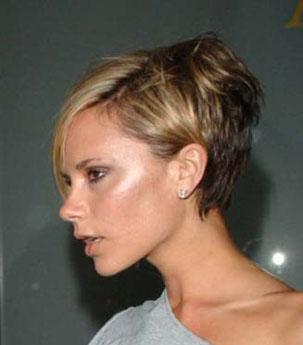 Victoria Beckham Short Hair