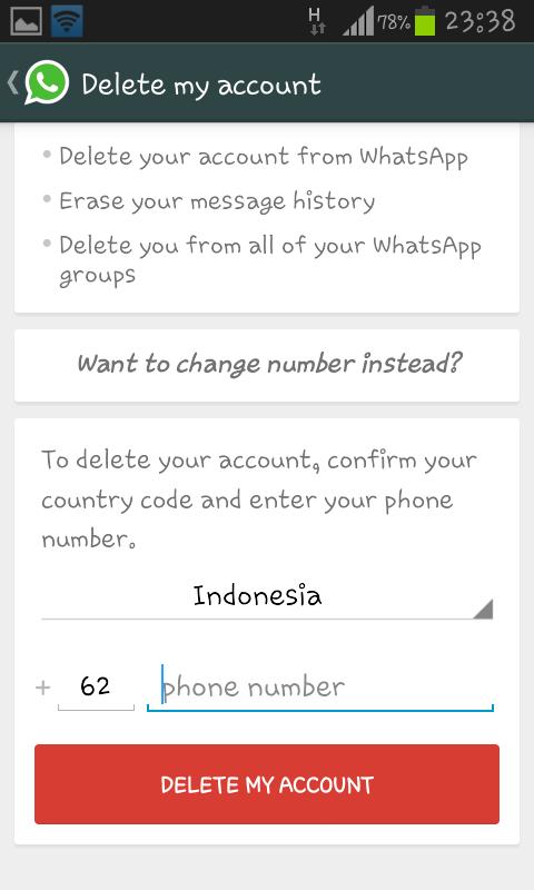 Cara Menonaktifkan Whatsapp Dari Hp Nokia Dan Android