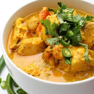 Frango ao molho picante de curry e leite de coco - Você sabe cozinhar! Acredite!