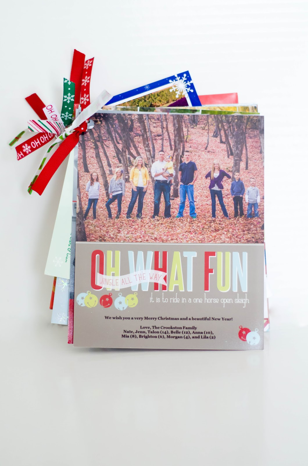 Christmas Card Storage Idea - Housewives of Riverton