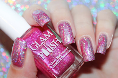 A Pink October Nail Art