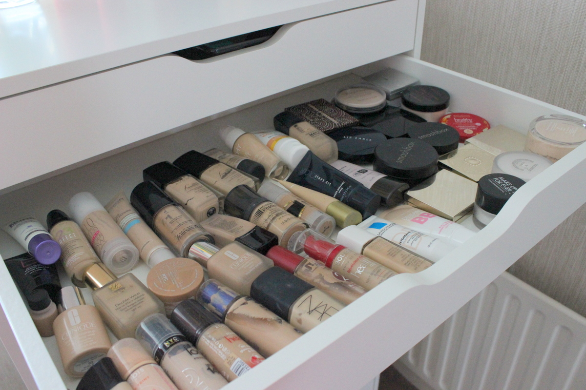 My new make up storage! | Lovely Girlie Bits - Best Irish Beauty ...