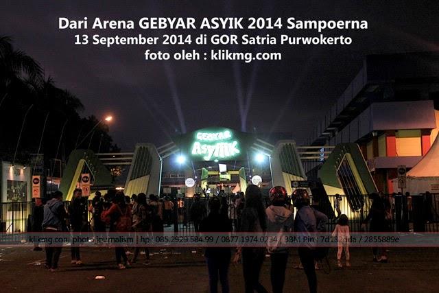 Dari Arena GEBYAR ASYIK 2014 Sampoerna - 13 September 2014 di GOR Satria Purwokerto | Foto oleh klikmg.com Fotografer Indonesia