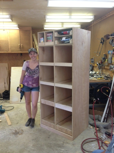 Wilker do 39 s diy freestanding pantry with pullout drawers for Cost to build a pantry