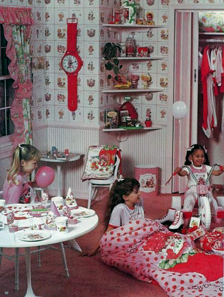 Strawberry Shortcake bedroom