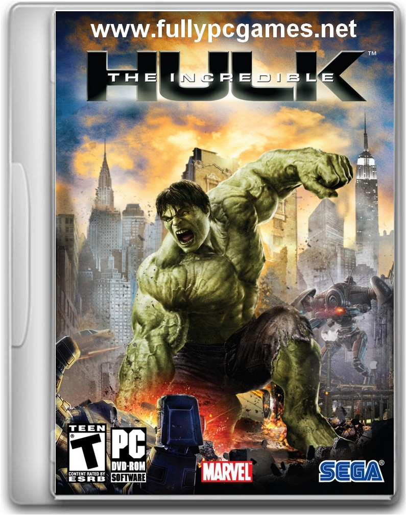 Incredible Hulk 1 Game - Free Download Full Version For Pc