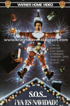 S.O.S... ¡Ya es Navidad!, ¡Socorro! Ya es Navidad. Chevy Chase, National Lampoon