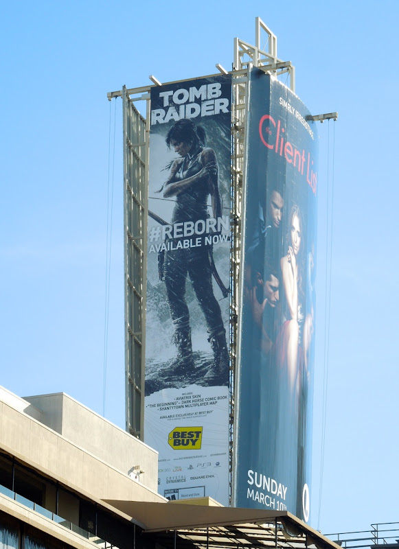 Tomb Raider 2013 billboard