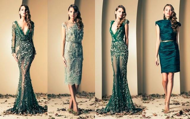 Tuba Edman: Breathtaking Evening Gowns 2014 by Ziad Nakad