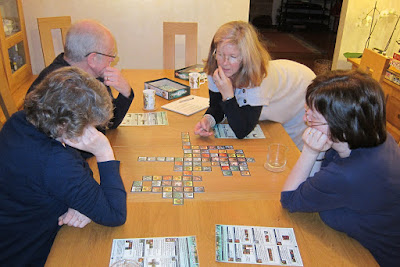 The Monday night gamers playing Voluspa