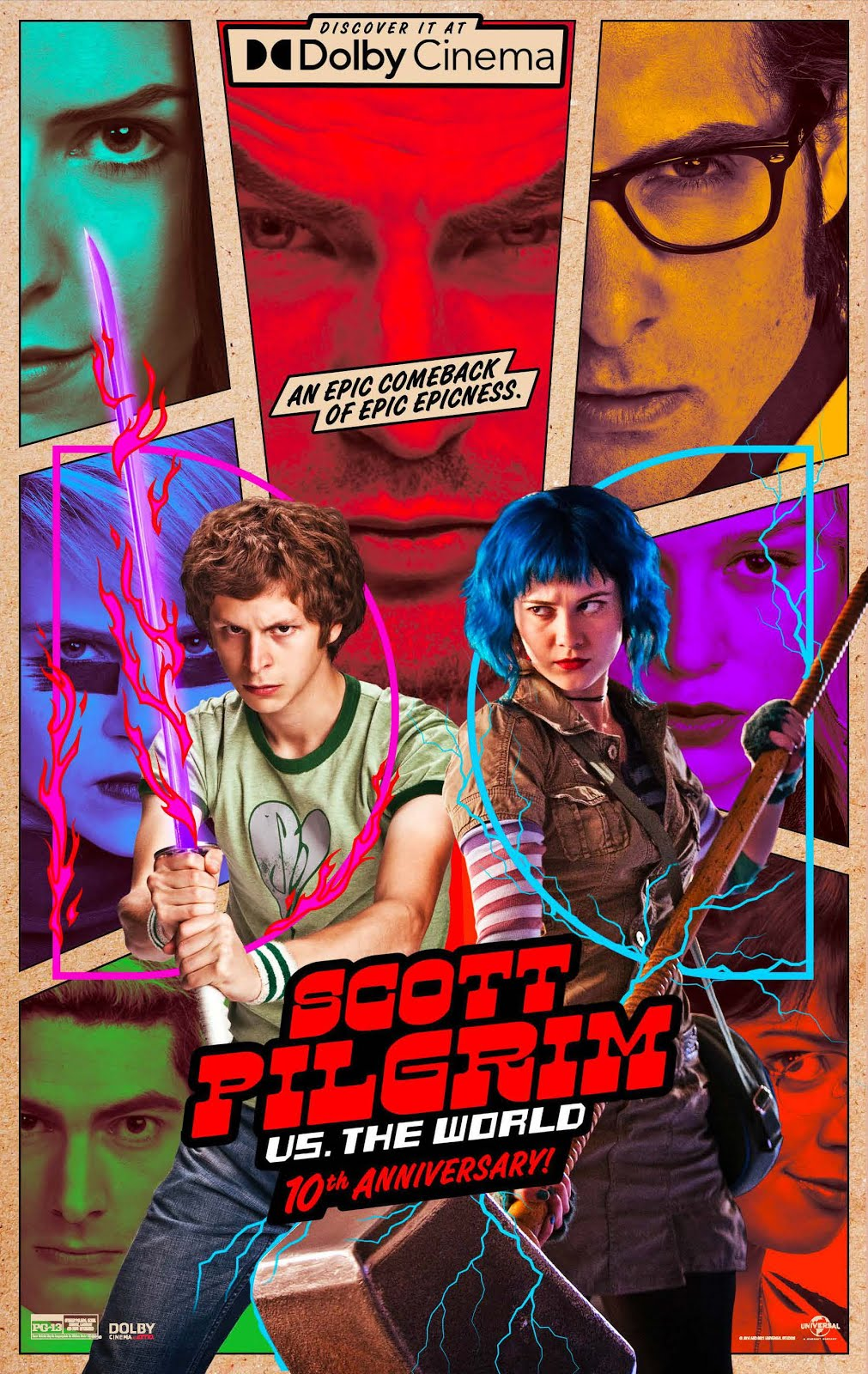 """SCOTT PILGRIM VS THE WORLD"""
