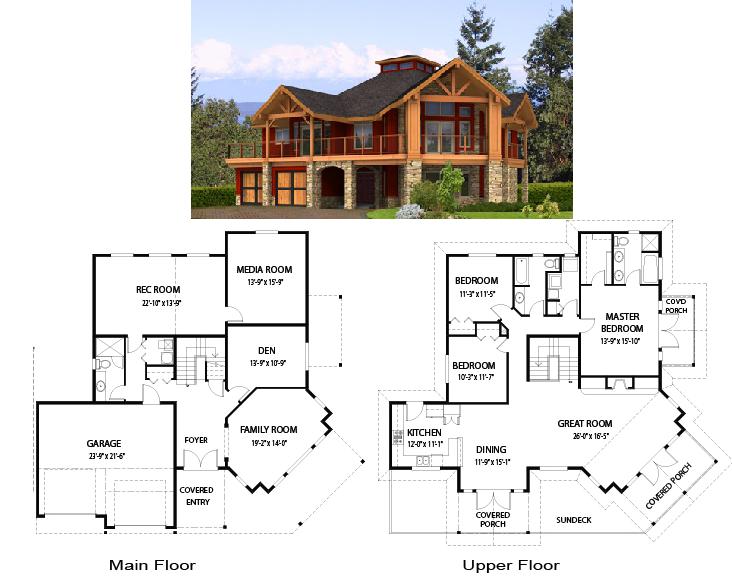 Pz c planos de casas for Fotos de casas modernas y sus planos