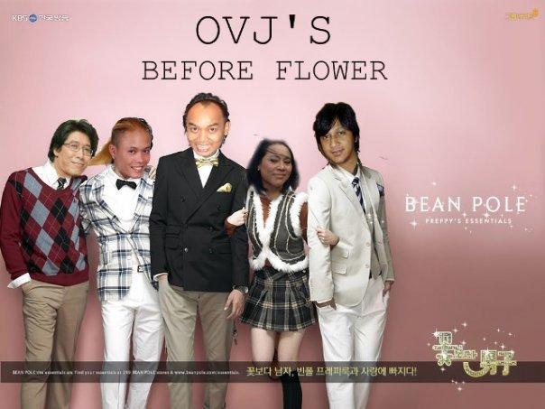 Opera Van Java Before Flowers - foto edit lucu OVJ versi Boys