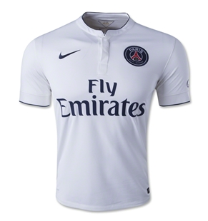 Áo đấu câu lạc bộ Paris Saint Germain sân khách