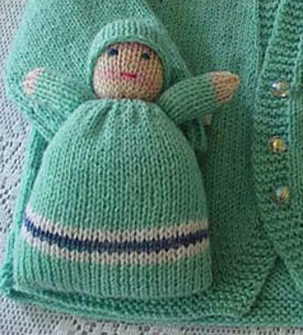 Baby Bunting Knitting Pattern : BeadBag: Baby Bunting Little Sweetheart Knitting Pattern