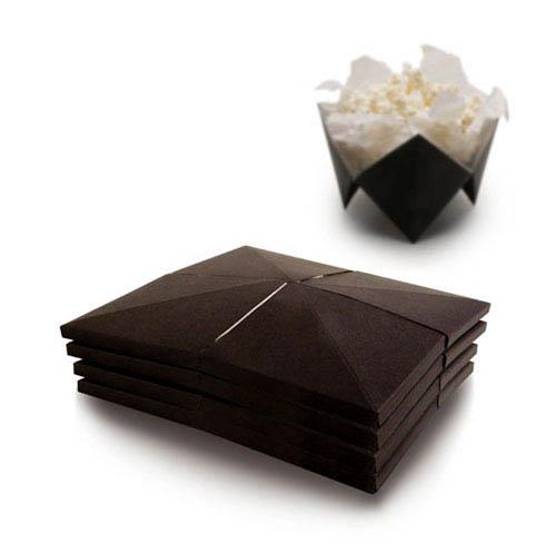 design de embalagem - food packaging design - Pop-Up Popcorn