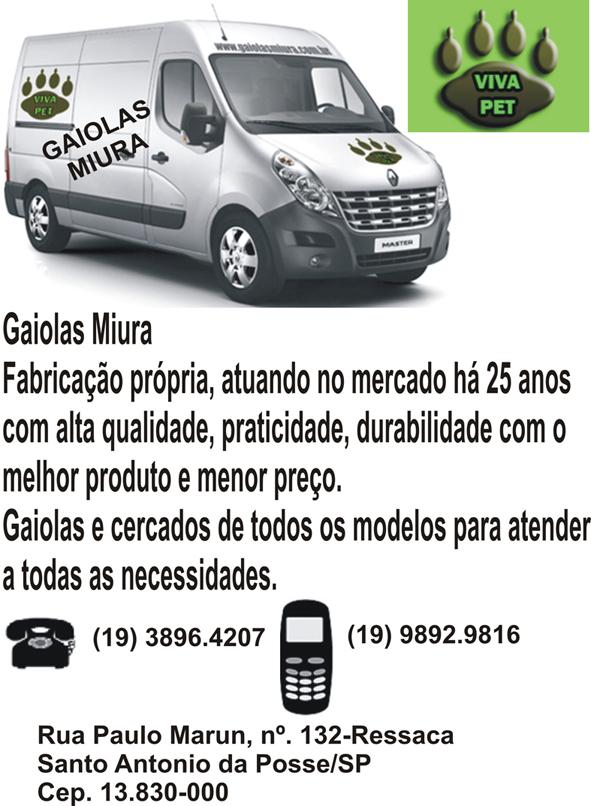 Gaiolas Miura