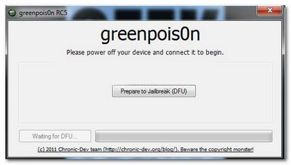 Green-Poison:-Greenpois0n-RC5-3-Allows-the-Jailbreak-with-Mac-OS-X-10.5-(Leopard)