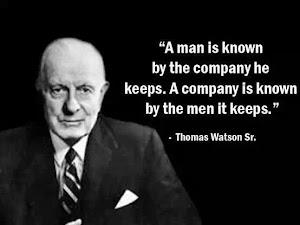 THOMAS JOHN WATSON, DE IBM