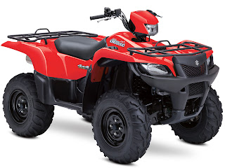 2013 Suzuki KingQuad 750AXi Power Steering ATV PICTURES 1