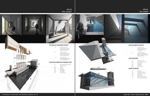 architecture villa image  architecture portfolio examples