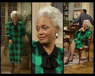 Cosby Show Huxtable fashion blog 80s sitcom Carrie Hanks Ethel Ayler