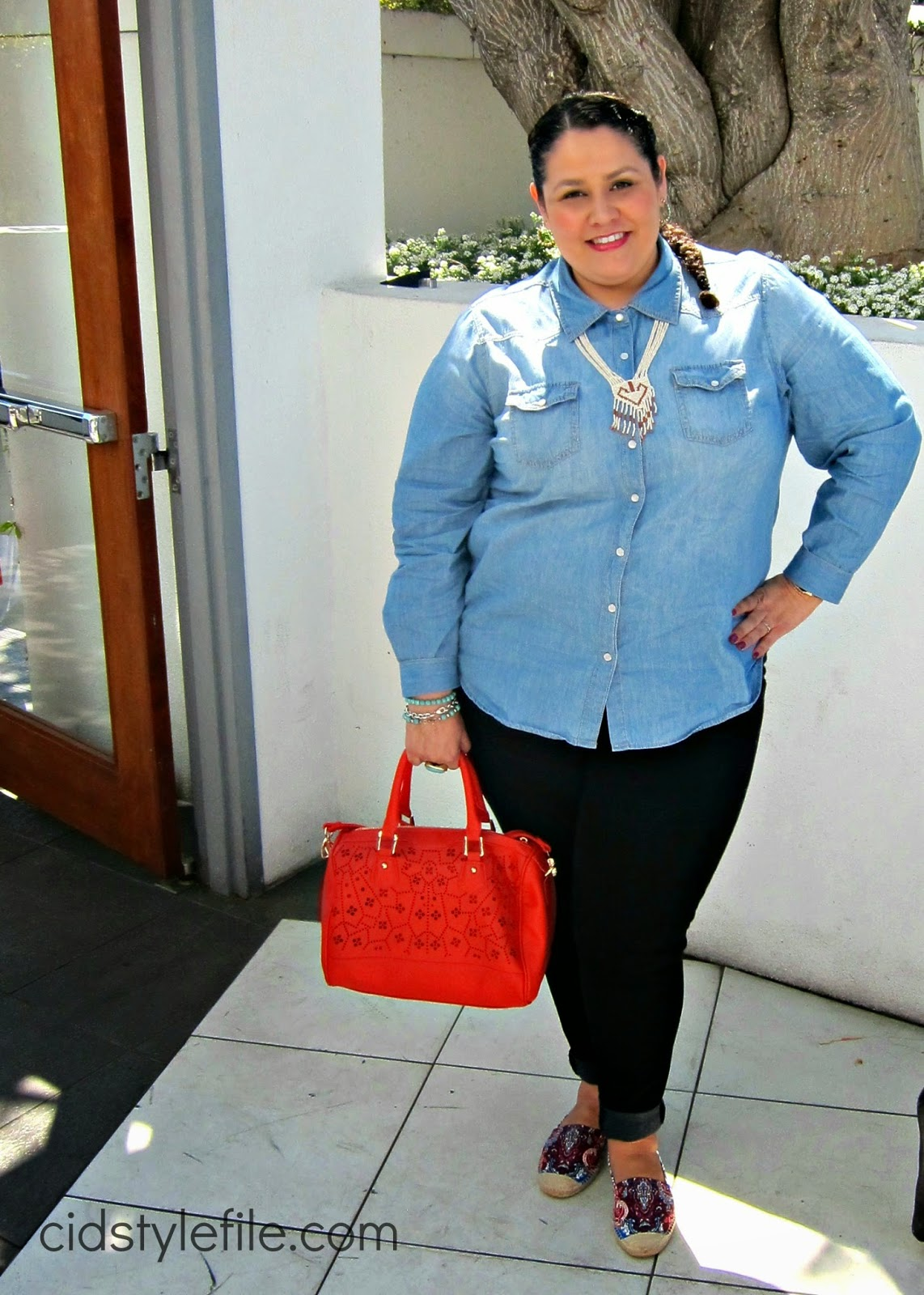 ootd, outfit of the day, what I wore, #luckyfabb, latina blogger, plus size fashion, ross, just fab, nine west, espedrilles