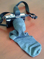 Olympus E-PL1 sock lens cover