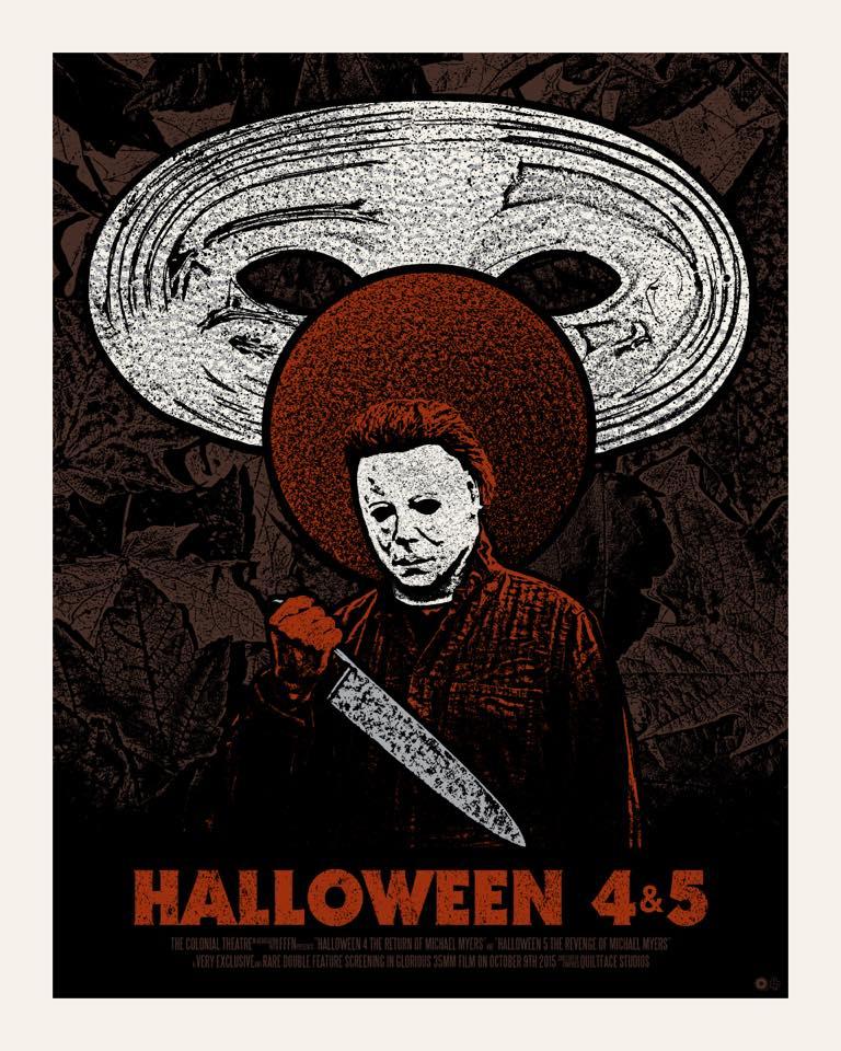 "Shit Movie Fest: Enter to Win a Custom ""Halloween 4 & 5 ..."