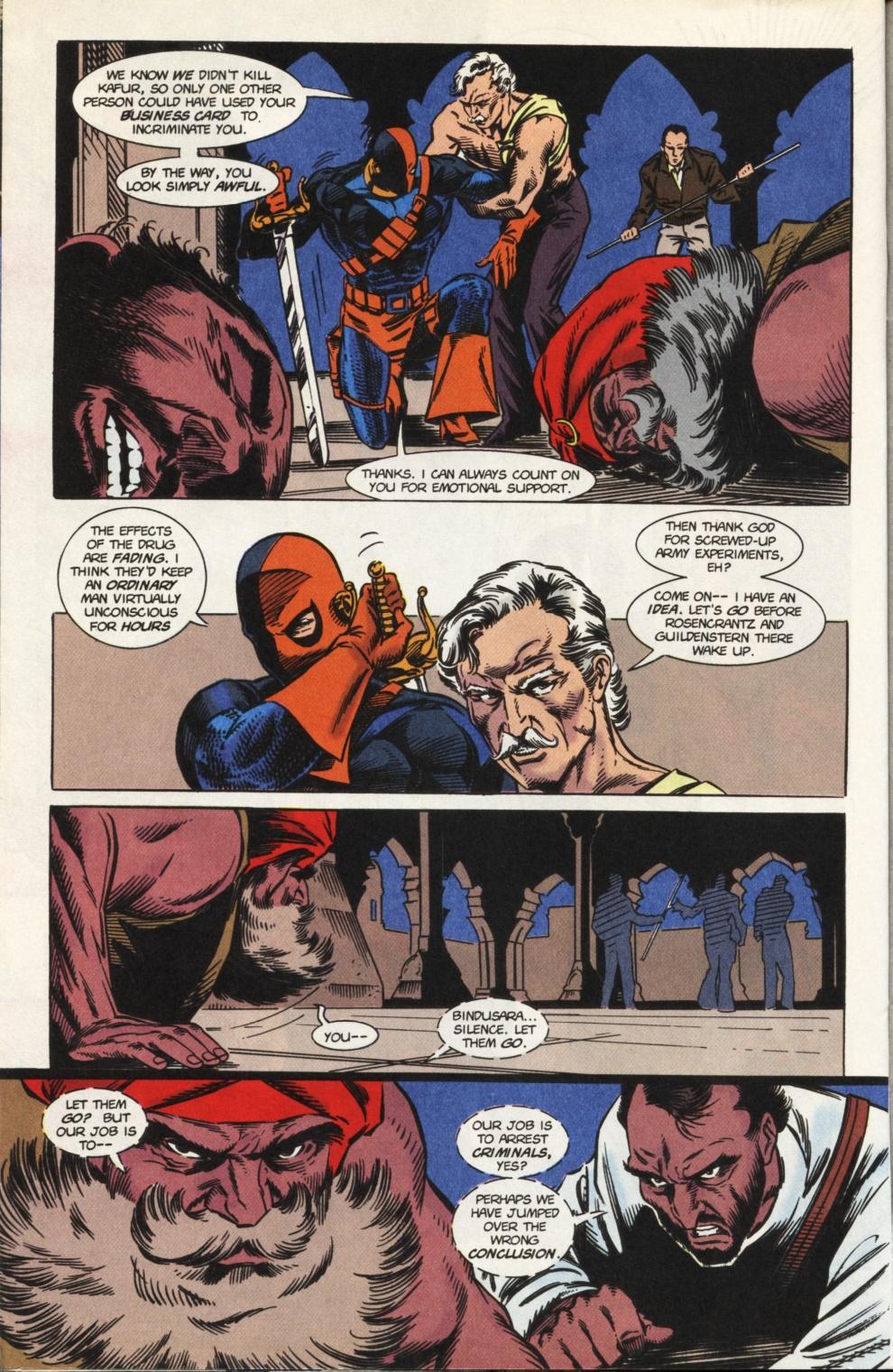 Deathstroke (1991) Issue #31 #36 - English 19