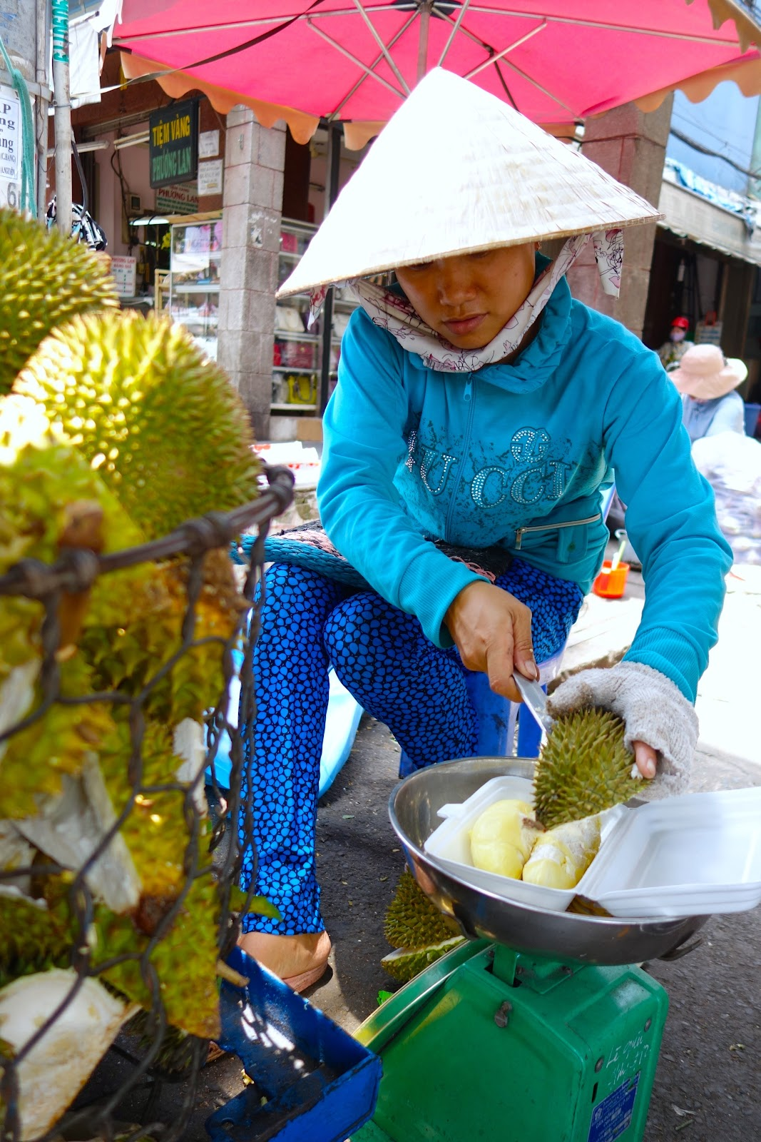 Sau Rieng Vietnam durian