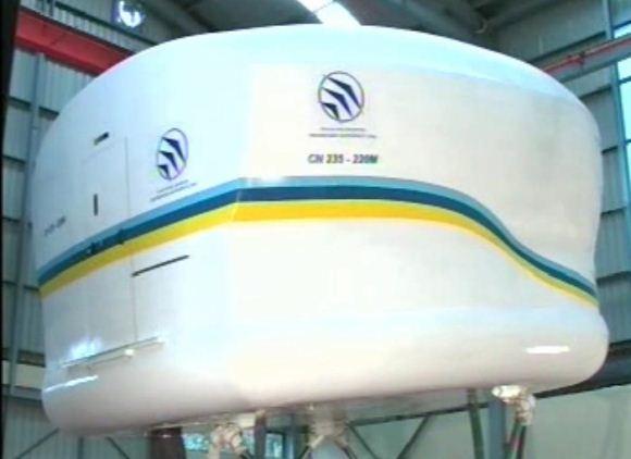 Flight Simulator Buatan PT. Dirgantara Indonesia
